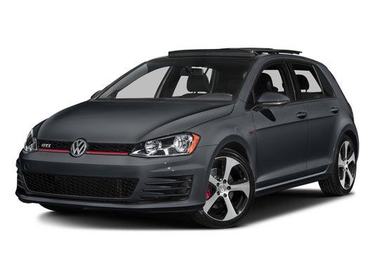 2017 Vw Gti Sport >> 2017 Volkswagen Golf Gti Sport Performance Package